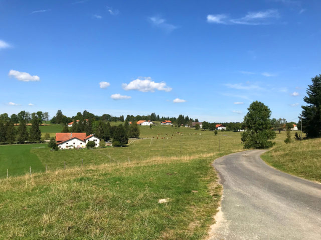Les Cerlatez, village au coeur des Franches-Montagnes, paradis équestre.